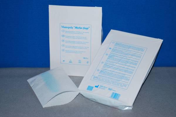 manopola pre saponata per la detersione e lavaggio dei pazienti
